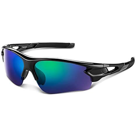 8822aede409c Tac Polarized sports sunglasses for Men Women Youth Baseball Military  Motorcycle Running Fishing UV400