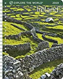 Ireland Weekly Engagement Calendar 2019 Planner 6.5'' x 8.5'' Spiral