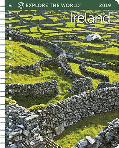"""Ireland Weekly Engagement Calendar 2019 Planner 6.5"""" x 8.5"""" Spiral"""