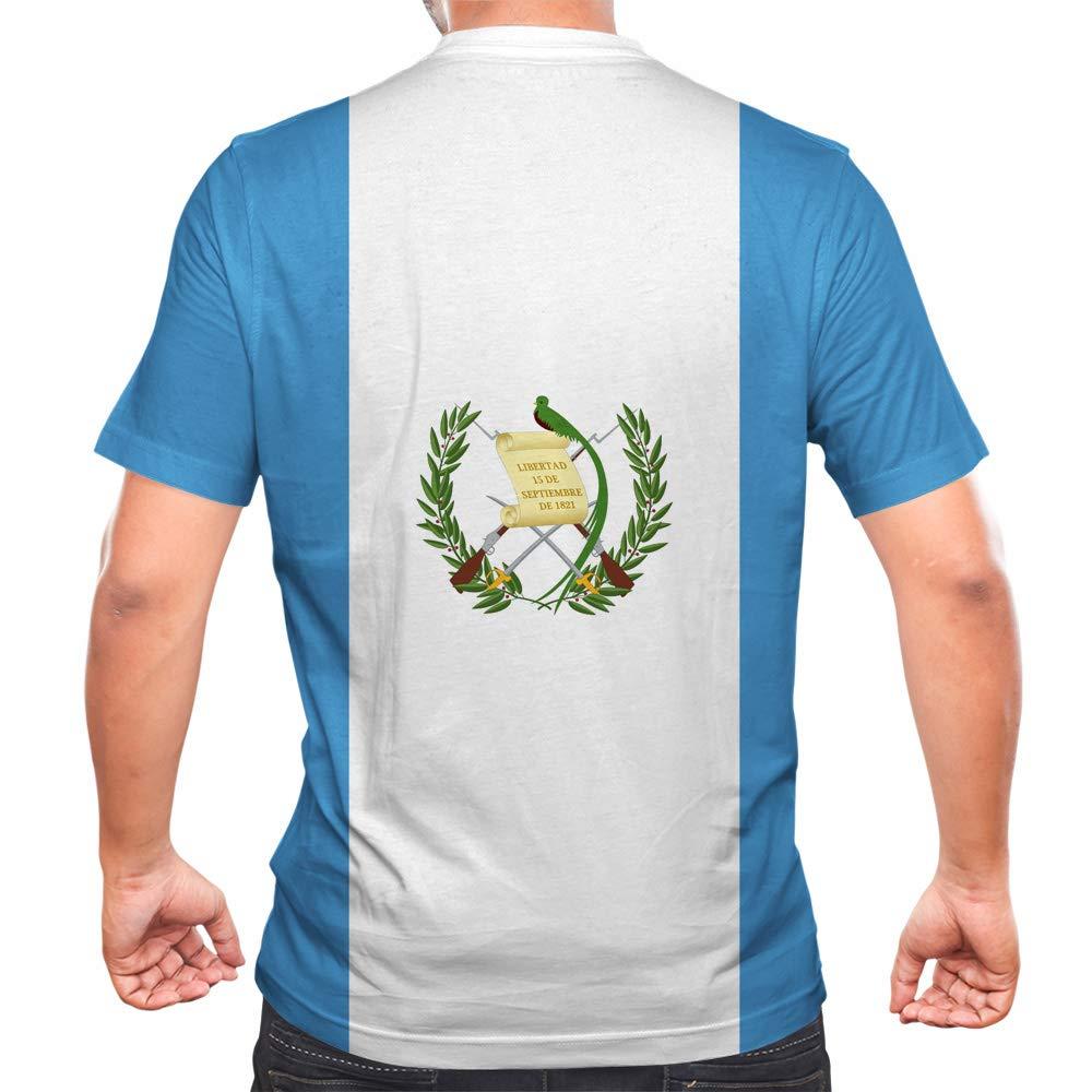 Idakoos Guatemala - 3D Hombres Camiseta Poliéster Novedad: Amazon.es: Ropa y accesorios