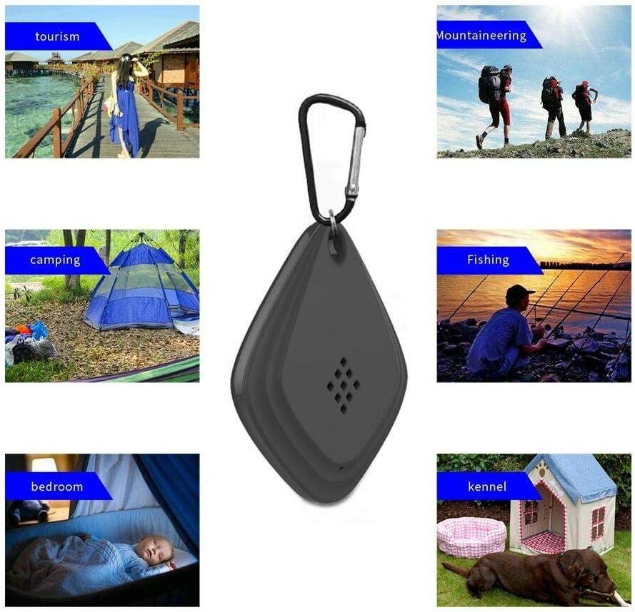 TETEAI Ultrasonic Flea /& Tick Repeller,USB Anti Mosquito Killer Repellent Outdoor Insect Repeller Electronic Roach Control 2 Pcs