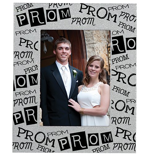 Prom Shimming Silver Glitter Frame -