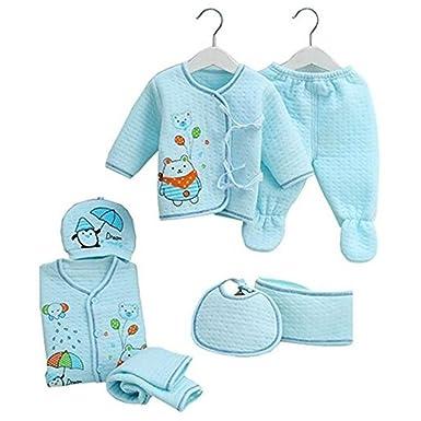 f8c1a1655603 7PCS Newborn Baby Set 0-3M new Infant Clothing suit newborn cotton ...
