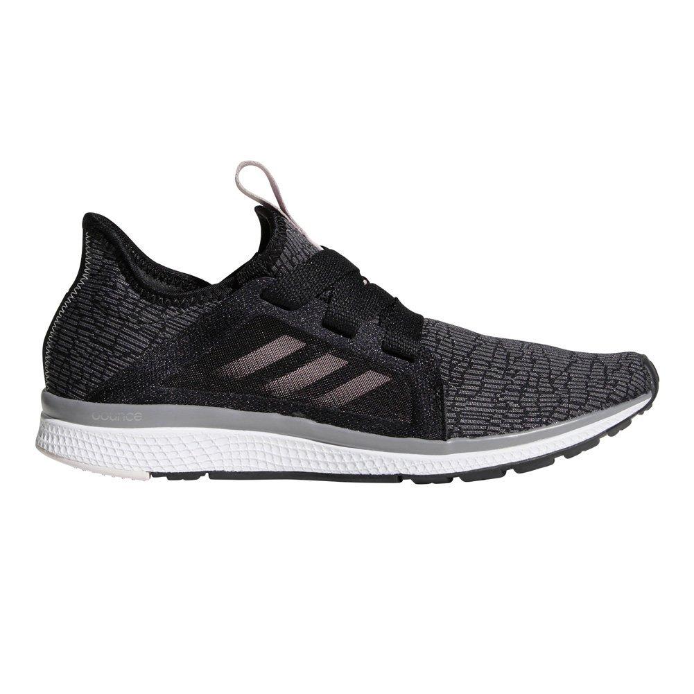 adidas Performance Women's Edge Lux Running Shoe, Black/Vapour Grey Metallic/Orchid Tint, 8.5 M US