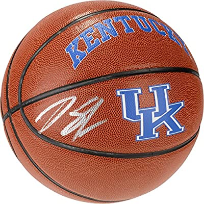 Karl-Anthony Towns Kentucky Wildcats Autographed Kentucky Logo Indoor/Outdoor Basketball - Fanatics Authentic Certified
