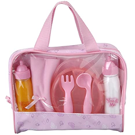 You & Me Doll Feeding Set - Pink