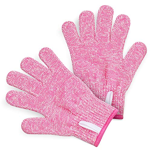 istant Gloves (Ages 8-12) - Maximum Kids Cooking Protection. Safe hands from REAL Kitchen Knives and Tools. Perfect for Oyster Shucking and Whittling. ()
