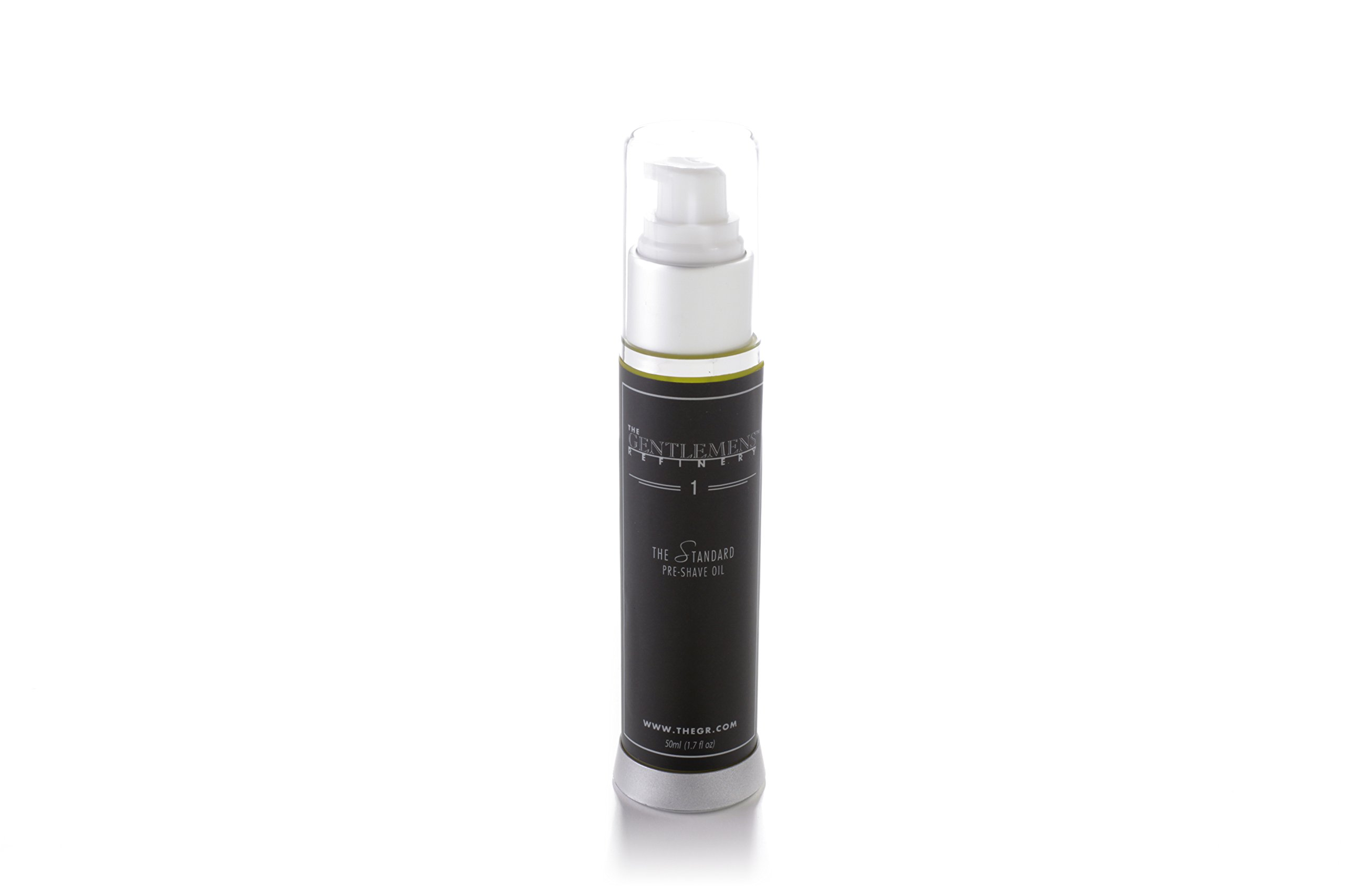 The Gentlemens Refinery 'The Standard' Pre-Shave Oil, All-Natural & Organic, 50ml