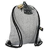 LOCTOTE Upgraded Flak Sack SPORT - Lightweight Theft-Resistant Drawstring Backpack | Anti-theft | Theft-Proof Travel Backpack | Lockable | Slash-Resistant