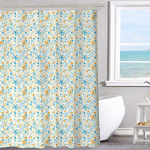 MKOK Extra Wide Shower Curtain 40