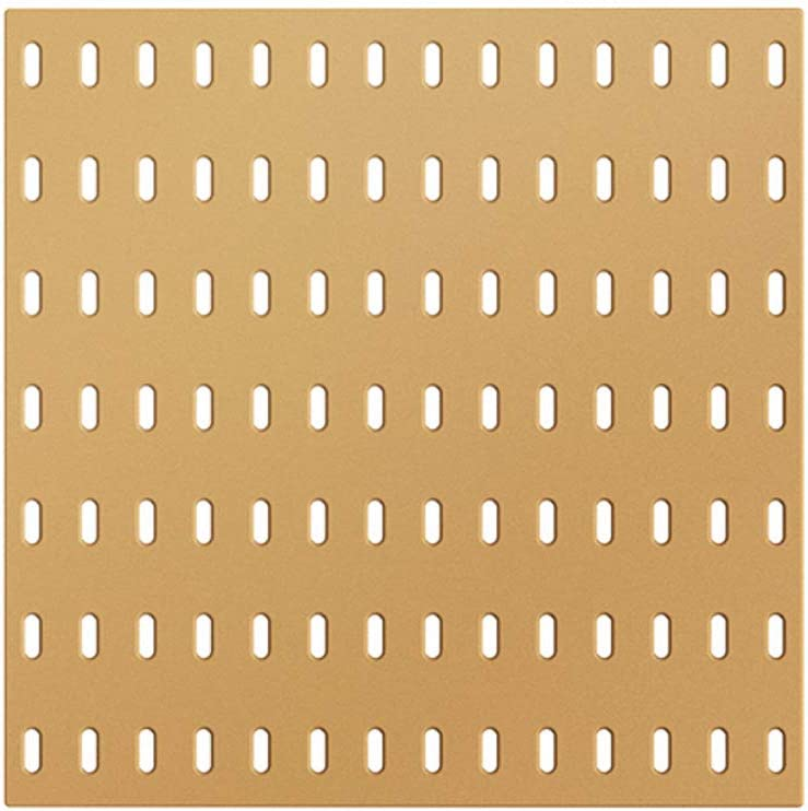 FO OSOBEIT Peg Board Panels Modular Toy Storage Bedroom Living Room Bathroom Kitchen Office Garages Basements Workshops Craft Rooms Yellow