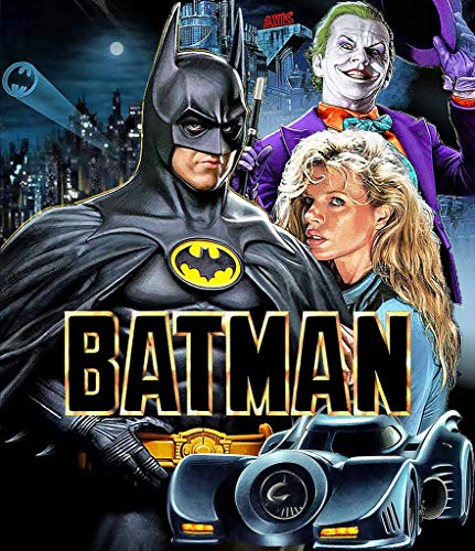 briprints Batman 1989 Movie Poster Print Size 24x18 Decoration semi Gloss Paper ()