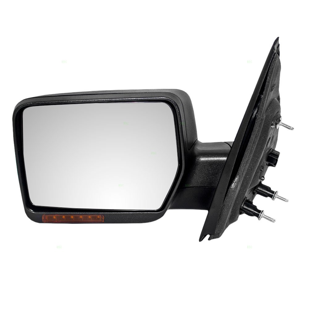 Drivers Power Side View Mirror Heated Signal Replacement for Ford Pickup Truck 6L3Z17683CA AUTOANDART