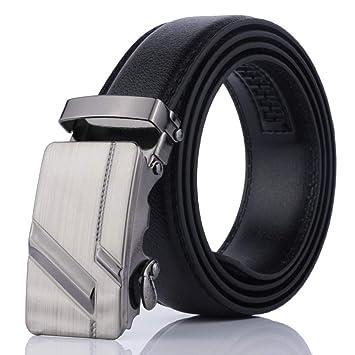LOPS Cinturón de Hombre, cinturón de Negocios, cinturón de ...