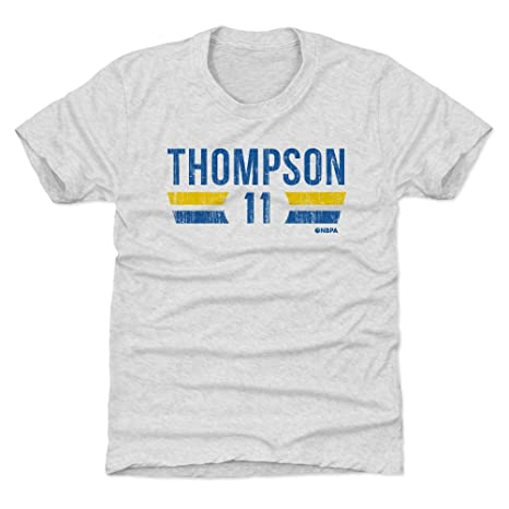huge discount d7bbc a9bbd 500 LEVEL Klay Thompson Golden State Basketball Kids Shirt - Klay Thompson  Golden State Font