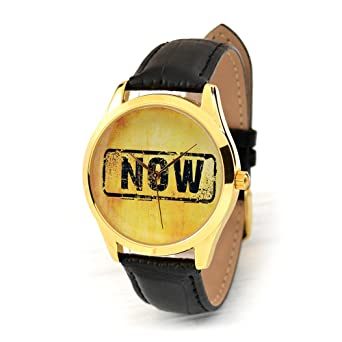 Amazon Gold Case NOW Watch