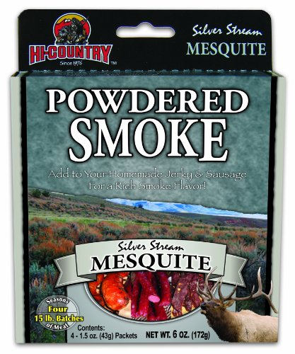 - Hi-Country Snack Foods Domestic Meat and WILD GAME 6 oz. Mesquite Powdered Smoke (4/1.5 oz. packs)