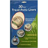 Potette Plus Compatible Refill Disposable Travel Potty Liner (Pack of 30)