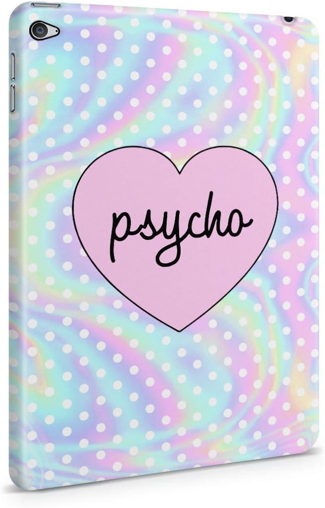 Psycho Heart Tye Dye Rainbow Polkaドットパターンハードプラスチックタブレットケースfor Ipad Mini 4