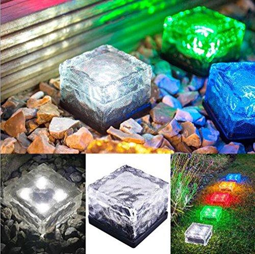 Living Solar Colour Change Plastic Lights - 3