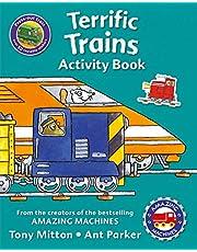 Amazing Machines Terrific Trains Activity Book