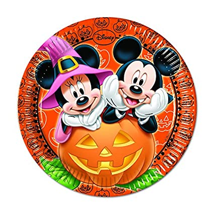Procos S.A. Mickey Mouse Halloween Dinner Plates  sc 1 st  Amazon.com & Amazon.com | Procos S.A. Mickey Mouse Halloween Dinner Plates ...
