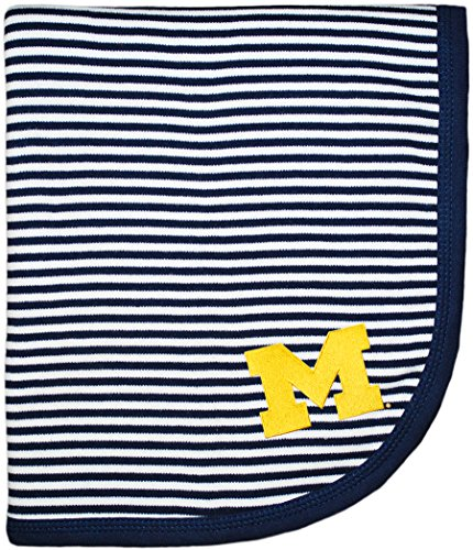 - University of Michigan Wolverines Block M NCAA Baby Blanket 33