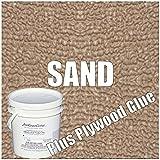 34 MIL Seamless Marideck Vinyl Flooring (Sand- Return Marine PlywoodGlue, 25)