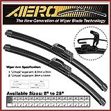 "AERO 26"" + 16"" OEM Quality All Season Beam Windshield Wiper Blades (Set of 2)"