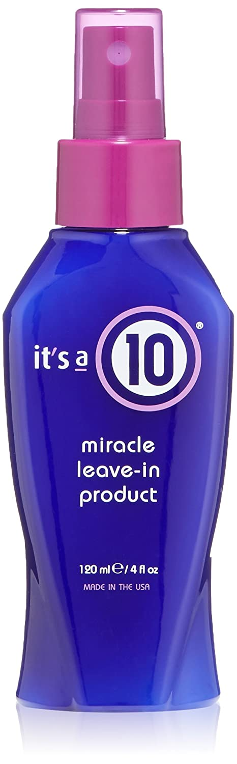 It's A 10 Miracle Leave In Product, 4-Ounces, Colors may vary ITS A 10 898571000198