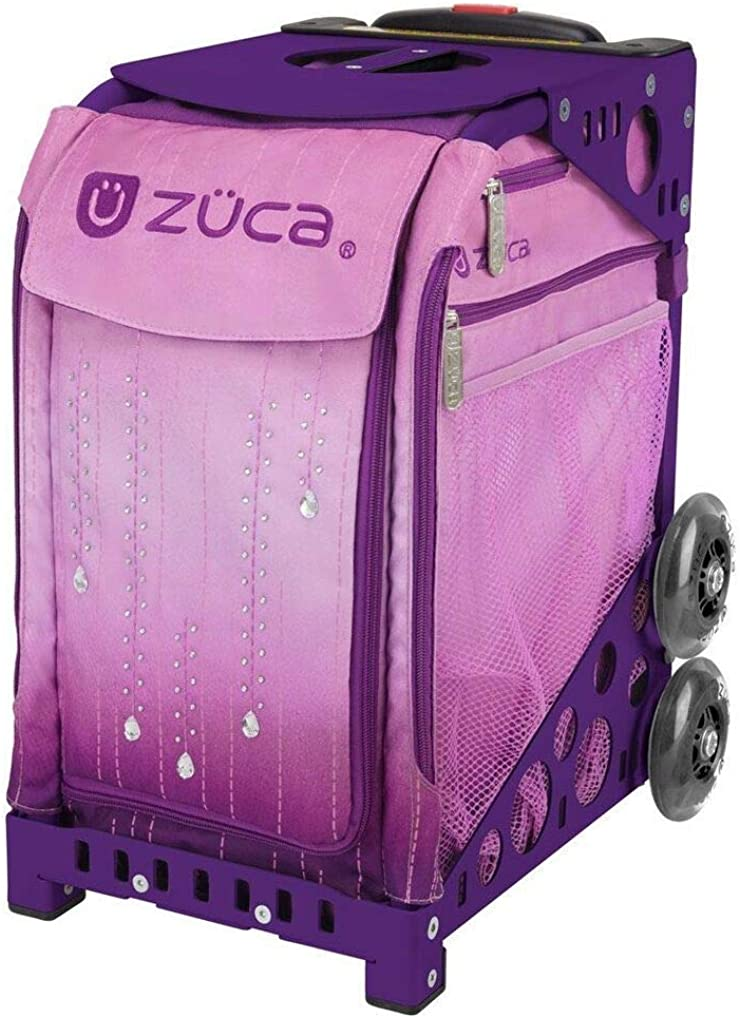 ZUCA Sport Suitcase with Built-in Seat - Velvet Rain Insert Bag, Choose Your Frame Color