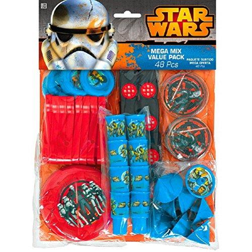 Star Wars Rebels Mega Mix Value Pack Favors, Party Favor -