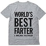 teestars world's BEST farter I mean 父亲有趣的礼物 DAD 男式 t 恤
