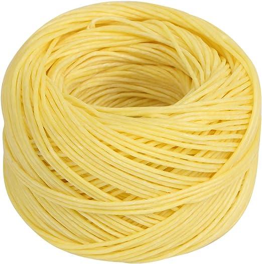 Rosenice - Mecha de algodón encerado de 61 m, mecha de algodón ...