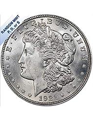 1921 Morgan Silver Dollar (BU) - Random Mint $1 Brilliant Uncirculated