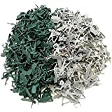 1000 Army Military Soldiers Army Men 2 Colors