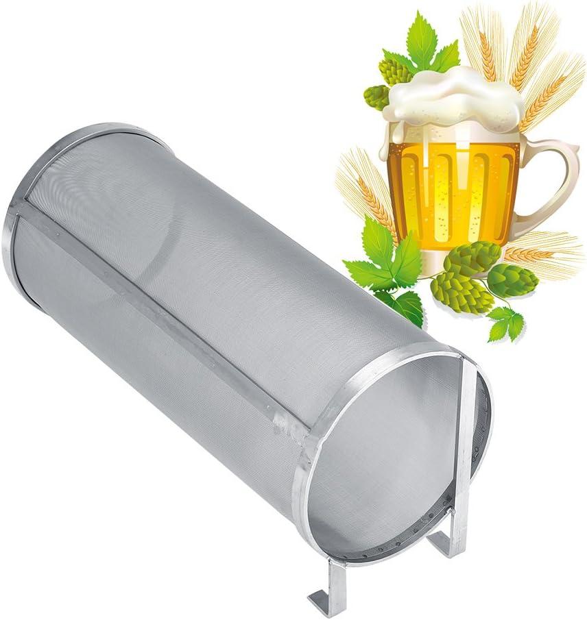 𝐂𝐡𝐫𝐢𝐬𝐭𝐦𝐚𝐬 𝐂𝐚𝐫𝐧𝐢𝒗𝐚𝐥 Filtro de cerveza, filtro de malla de 300 micras de acero inoxidable hecho en casa(15 * 35cm)