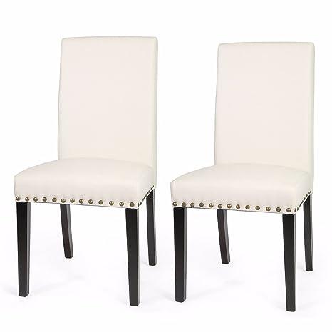 Super Amazon Com 9Trading 1Pair Elegant Design Modern Beige Machost Co Dining Chair Design Ideas Machostcouk
