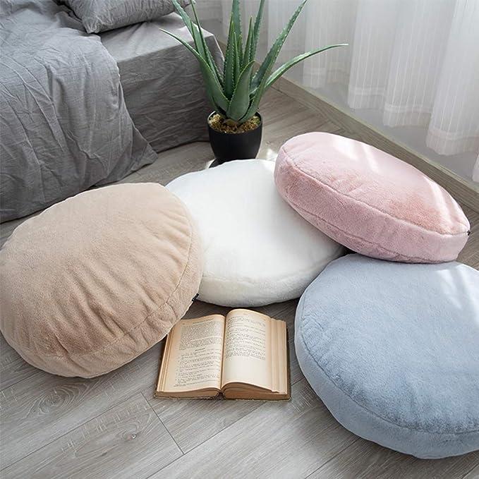 Amazon.com: Idee-home - Cojín de suelo redondo grande para ...