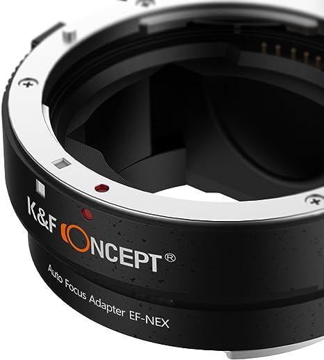 K F Concept Objektivadapter Autofokus Ef Nex Automatik Kamera