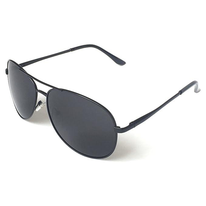 Best Gifts For Fishermen : J+S Premium Military Style Classic Aviator Sunglasses