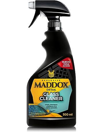 Maddox Detail 20101 Glass Cleaner - Limpiacristales Triple Acción, Limpia, Desengrasa Y Abrillanta,