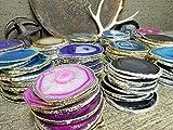 4 (FOUR) Agate Coaster - Agate Slice Coasters