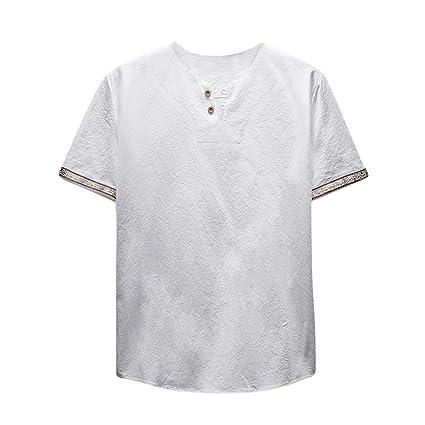Hombre camiseta T-shirt manga corta,Sonnena ❤ Camiseta casual de algodón y