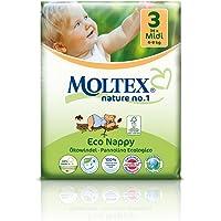 Moltex Nature No.1 Midi 34 Eco Nappies, 34 count