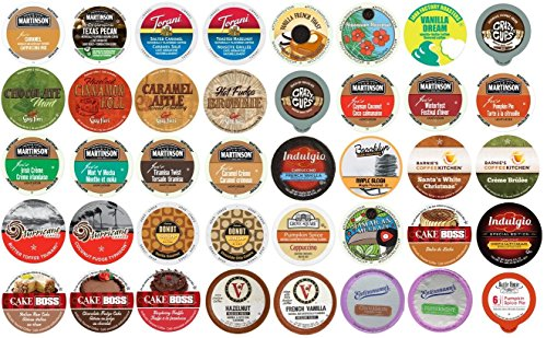 (80 K Cup Variety Pack - Flavored Coffee Only - Delicious New Flavored Coffees)