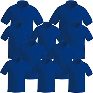MISEMIYA - Pack*10 Pcs - Polo Uniforme Laboral Industrial Taller ...