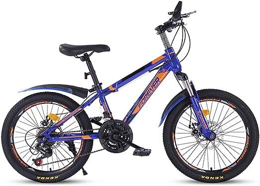 Kids Road Bicycles Bicicleta de montaña para niños de 20 Pulgadas ...