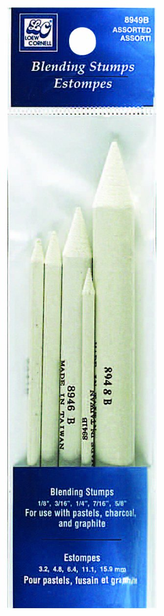 Loew-Cornell Assorted Blending Stumps, 5-Count