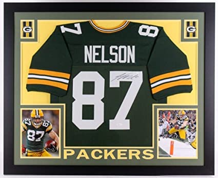 wholesale dealer 242f5 7bd54 Jordy Nelson Autographed Signed Autograph Green Bay Packers ...